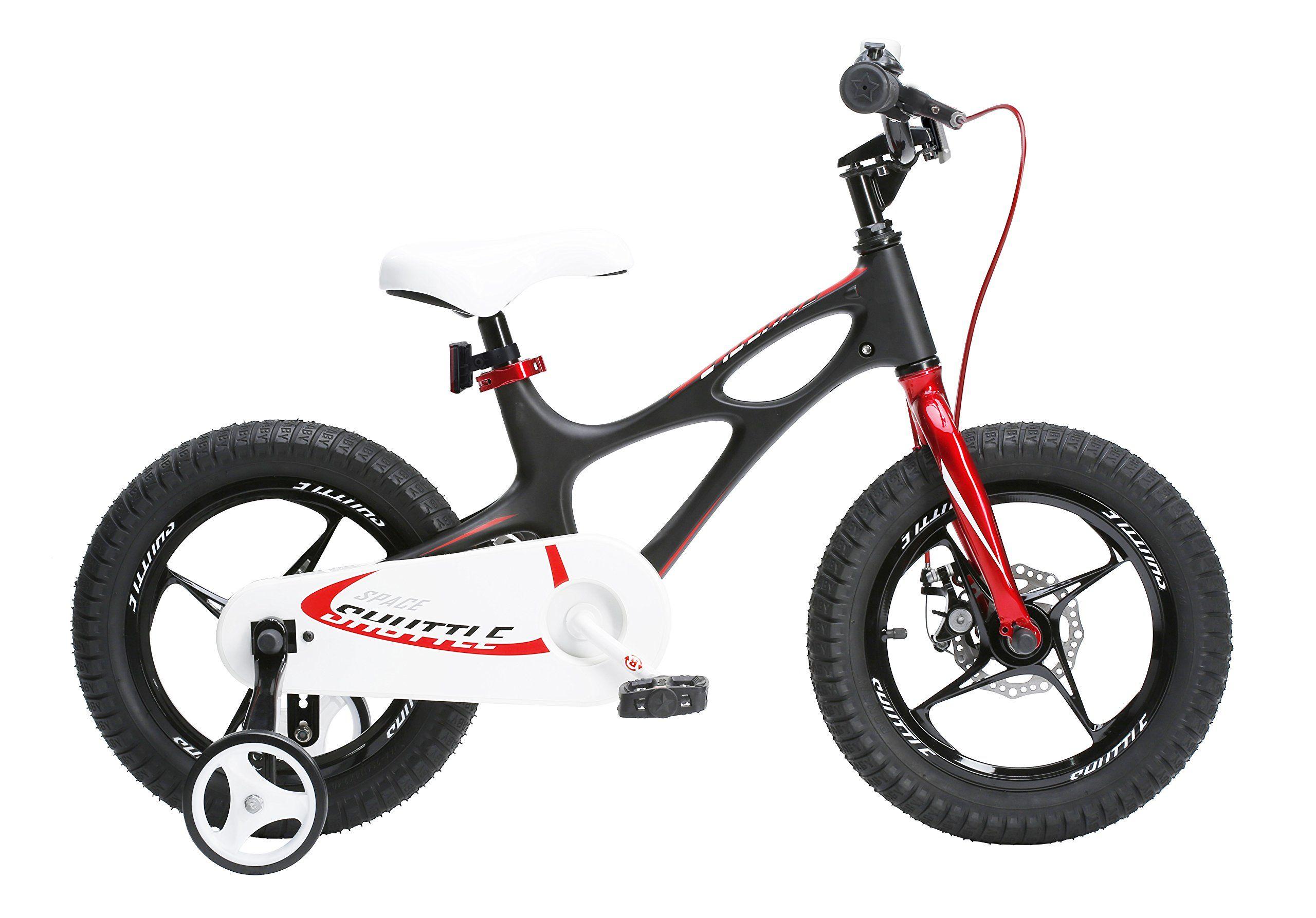 RoyalBaby Space Shuttle magnesium kids\' bike, 16 inch wheels, black ...