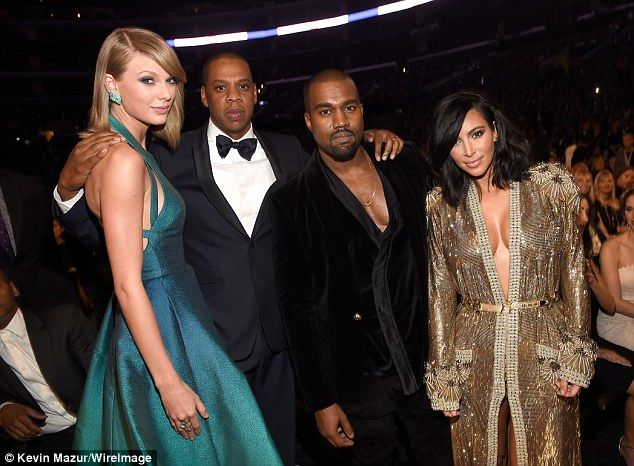 Kim Kardashian Is A Golden Girl In Robe Like Gown At The Grammys