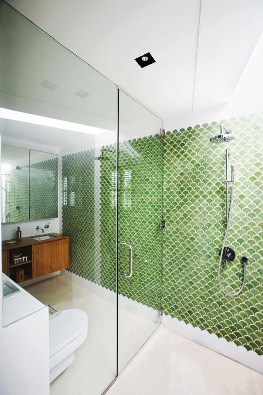 Yellow Tile Bathroom Decorating Ideas house tour: white and wood-themed shophouse home | shophouse