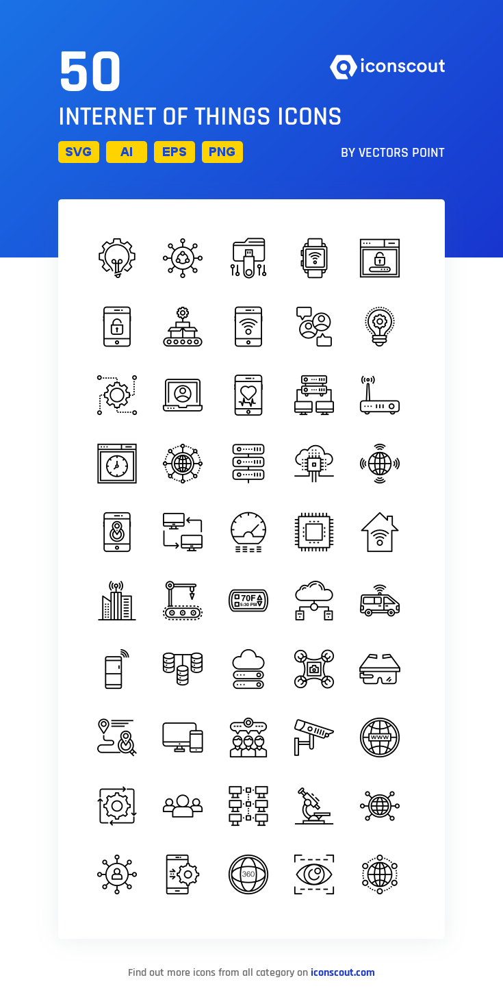 Download Internet Of Things Icon Pack Available In Svg Png Eps Ai Icon Fonts In 2020 Icon Pack Icon Internet Icon
