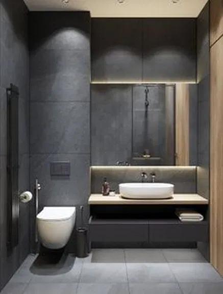 20 Minimalist Bathroom Design Ideas In 2020 Minimalist Bathroom Design Restroom Design Washroom Design