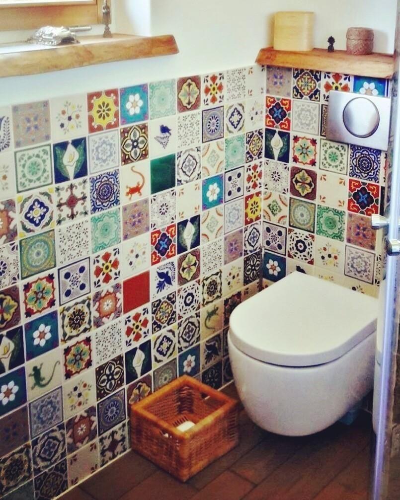 Rustikale vintage badezimmer dekor badezimmer egal welche größe so machst du es schön in
