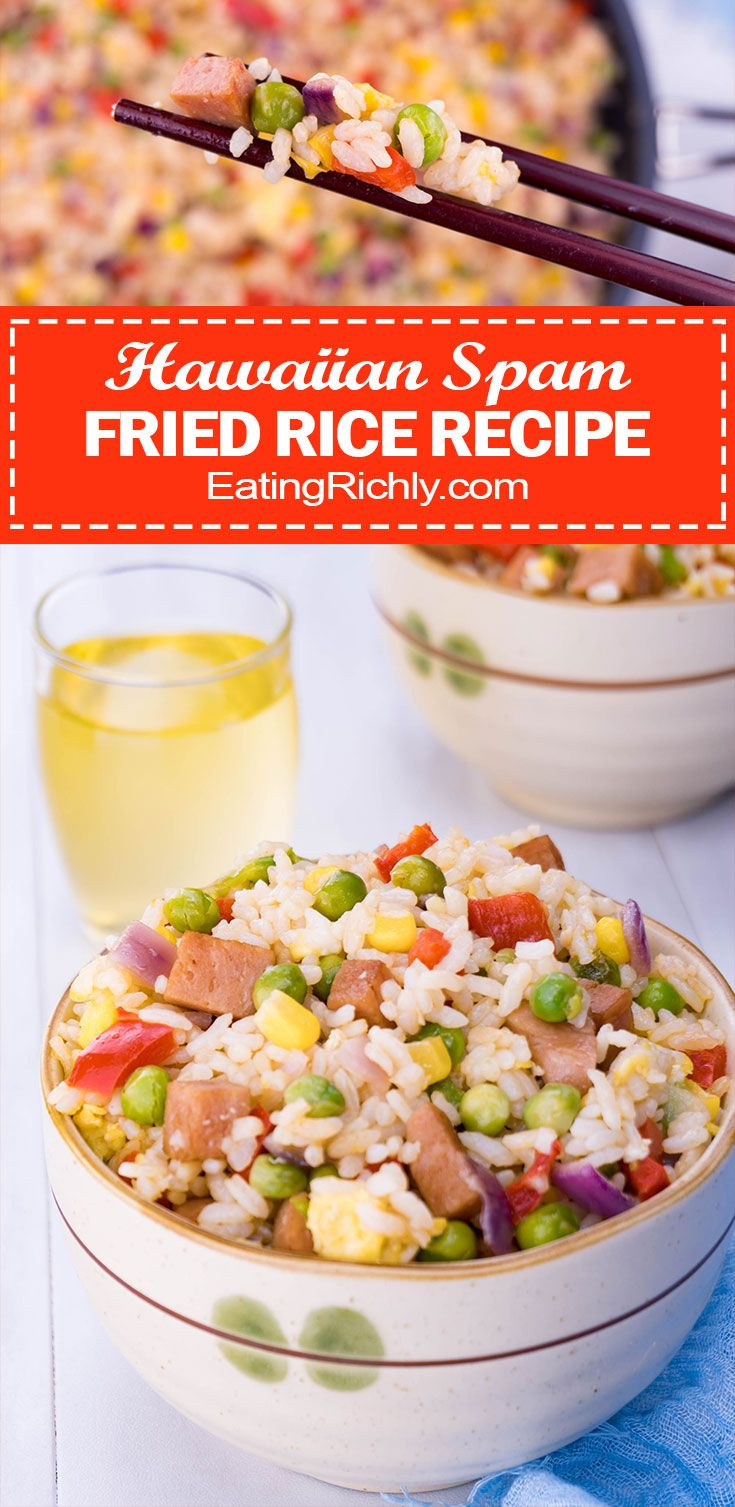 Hawaiian spam fried rice is a go to comfort food for locals living fried rice is easy to make with common ingredients and tastes just like ccuart Image collections