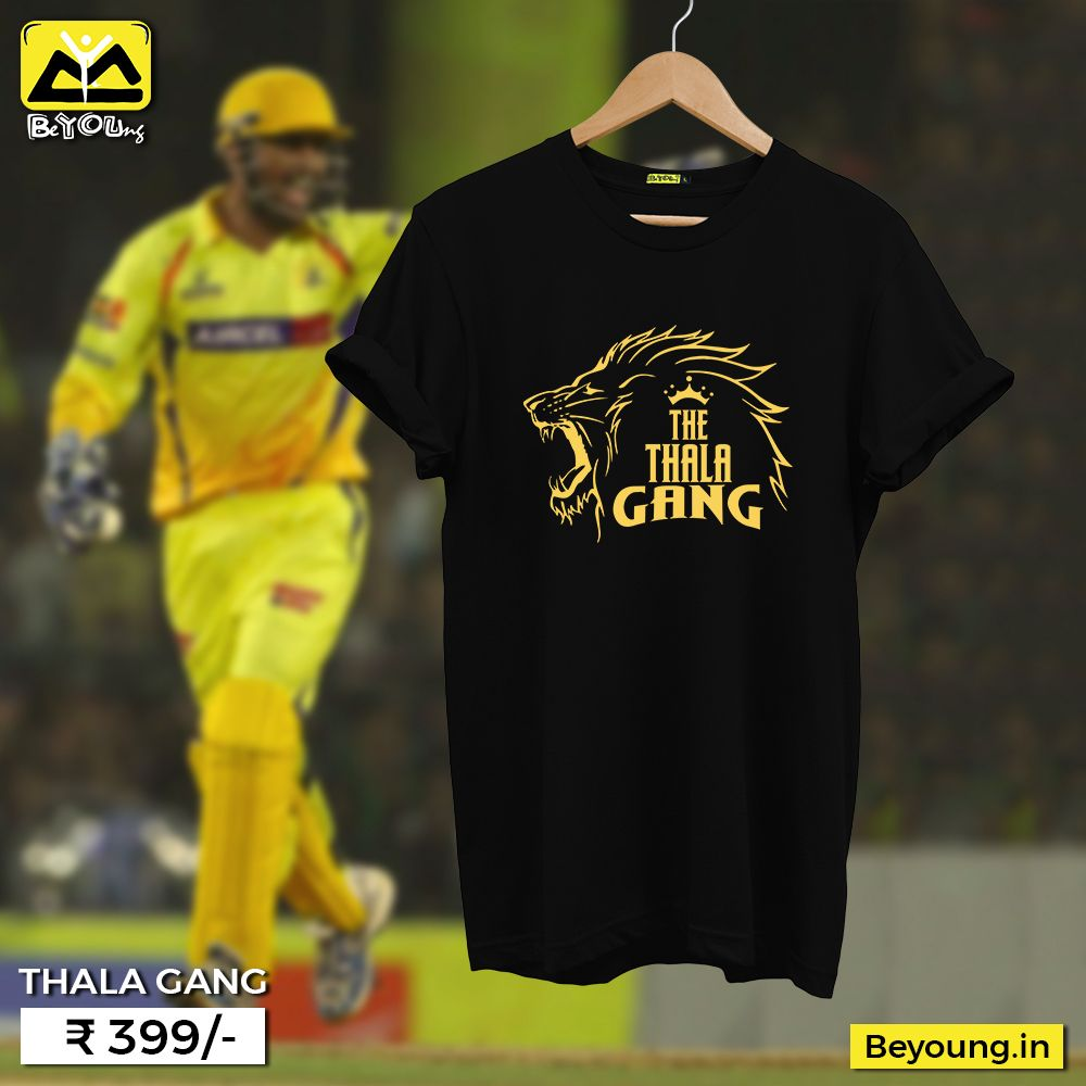bfe74229 Buy Awesome IPL T-shirts available online at Beyoung with Genuine Cotton  Quality. Beyoung introduces wide collection of amazing Graphic T shirts for  men.