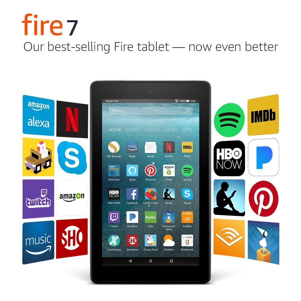 The Next Generation Of Our Best Selling Fire Tablet Ever Now