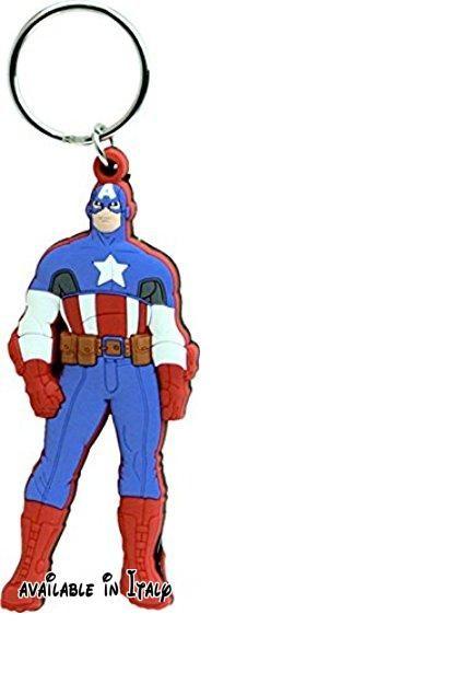 Marvel Captain America Soft Touch Portachiavi. 100% autentico #Giocattolo #TOYS_AND_GAMES