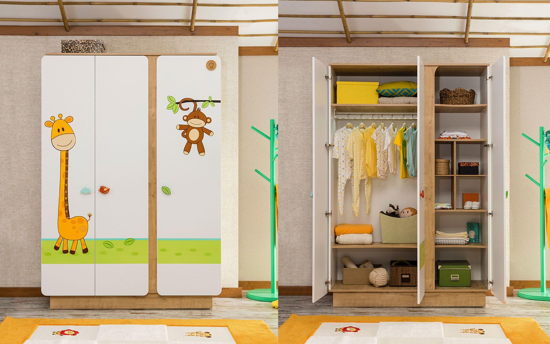 Simple Cilek Safari Natura Kleiderschrank https homeofliving de babys