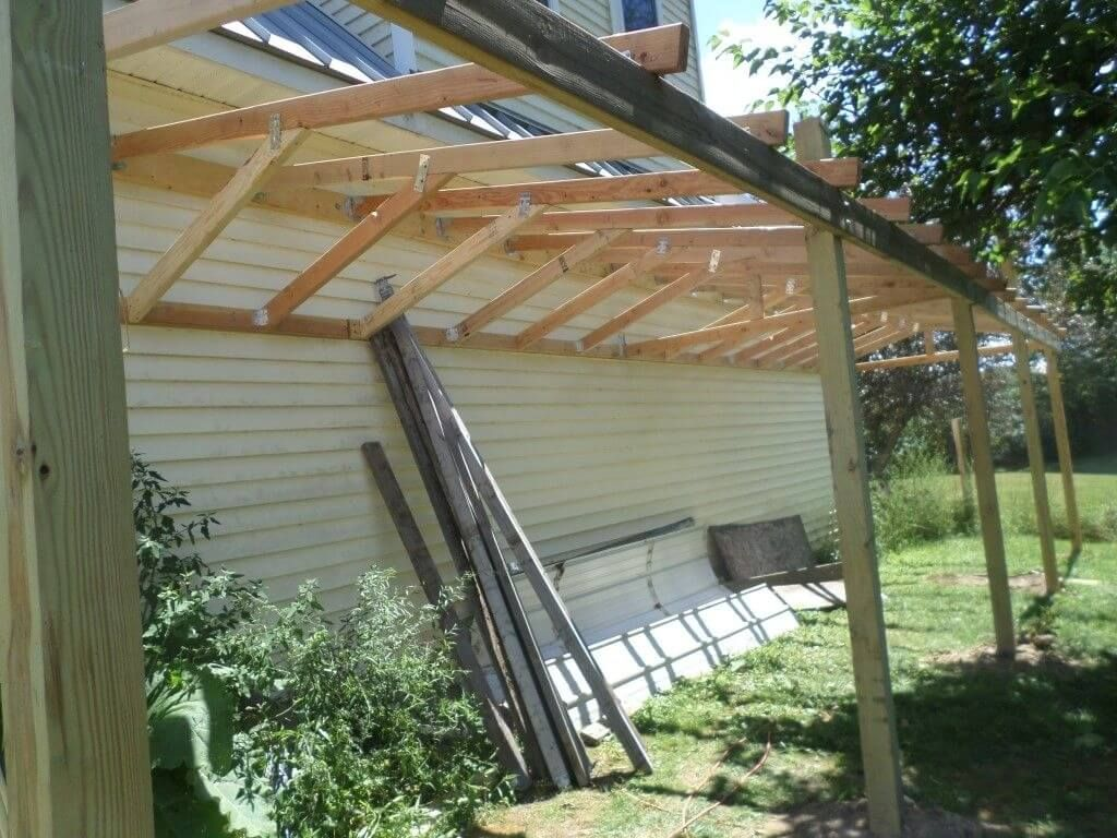 How to Build a Lean-To Shed in 5 Easy Steps | Building a ...