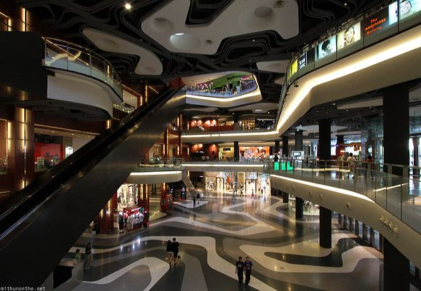 Shopping Malls In Singapore Interior