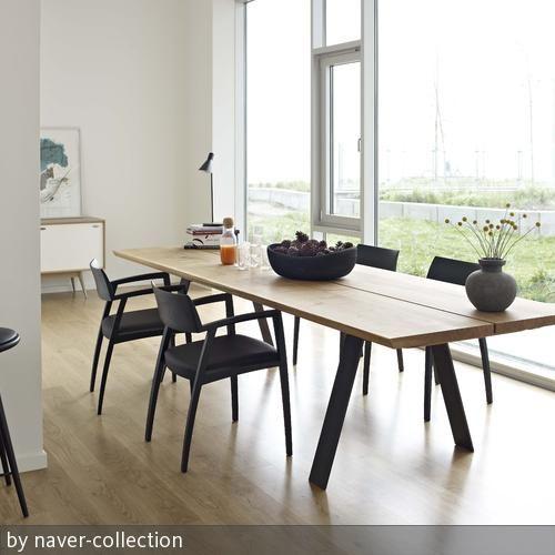 e tisch und st hle massivholz moderne esszimmer skandinavisch wohnen und skandinavisch. Black Bedroom Furniture Sets. Home Design Ideas