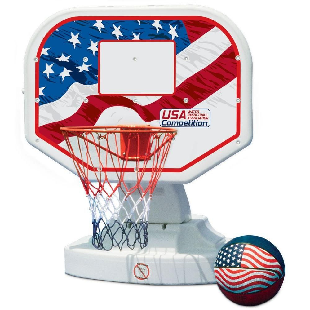 Poolmaster Usa Competition Swimming Pool Basketball Game 72830 The Home Depot Swimming Pool Games Basketball Games For Kids Pool Games