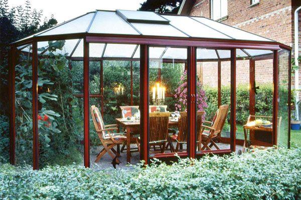 Invernadero mi jard n bonito invernadero jardines - Invernaderos de cristal ...