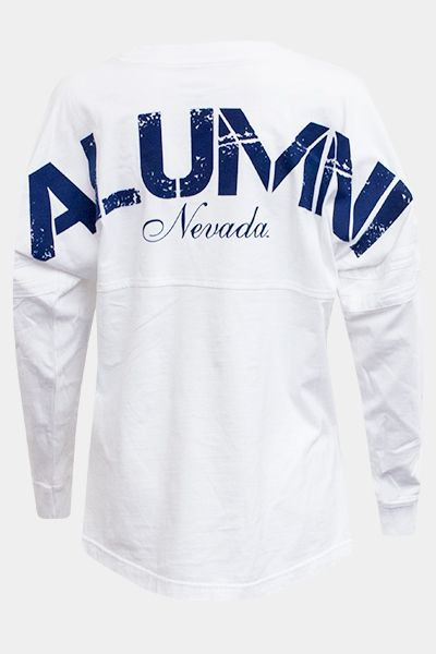 State of Nevada College Letter Long Sleeve Jersey T-shirt