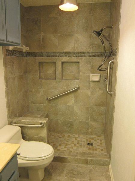 23 Bathroom designs with handicap showers Found on Messagenote
