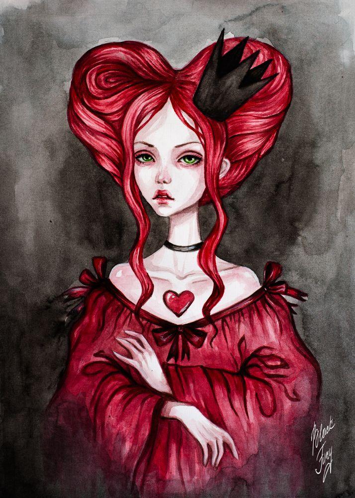 Queen of Hearts by BlackFurya