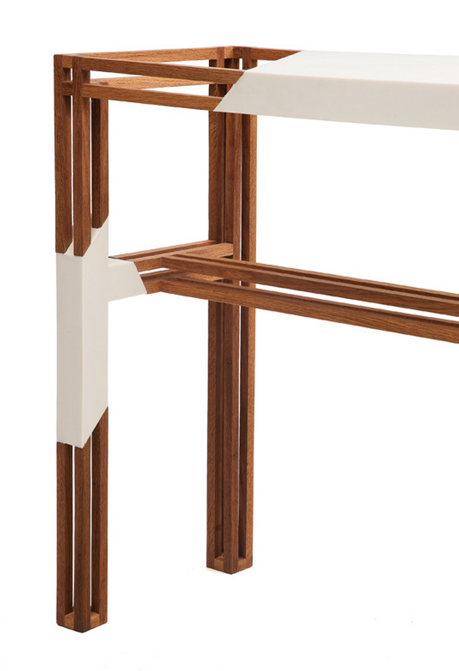 // Table Stripping by Liliana Ovalle for Plusdesign