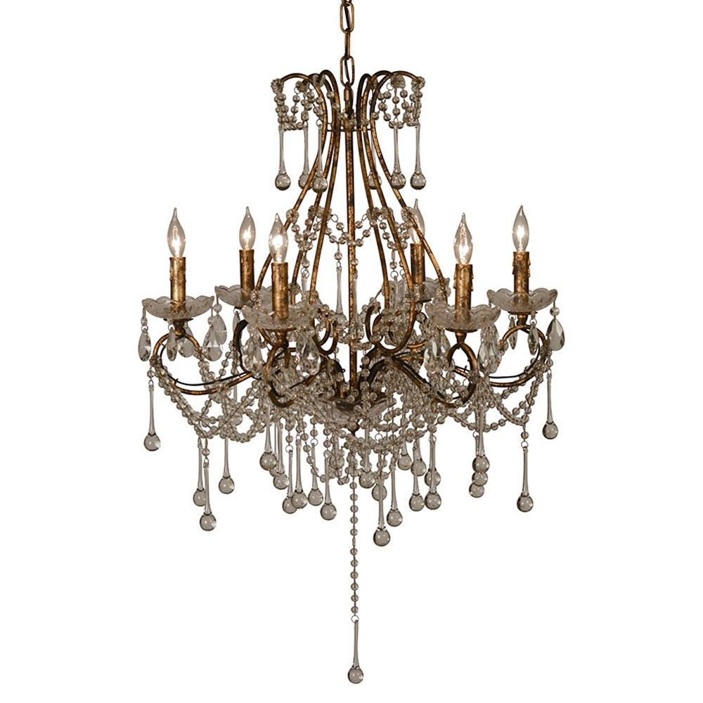 The Toulouse Chandelier By Dovetail Is Part An Eclectic Range Of Handmade Furniture Accessories And Textiles Iron Chandelier Handmade Furniture Candelabra