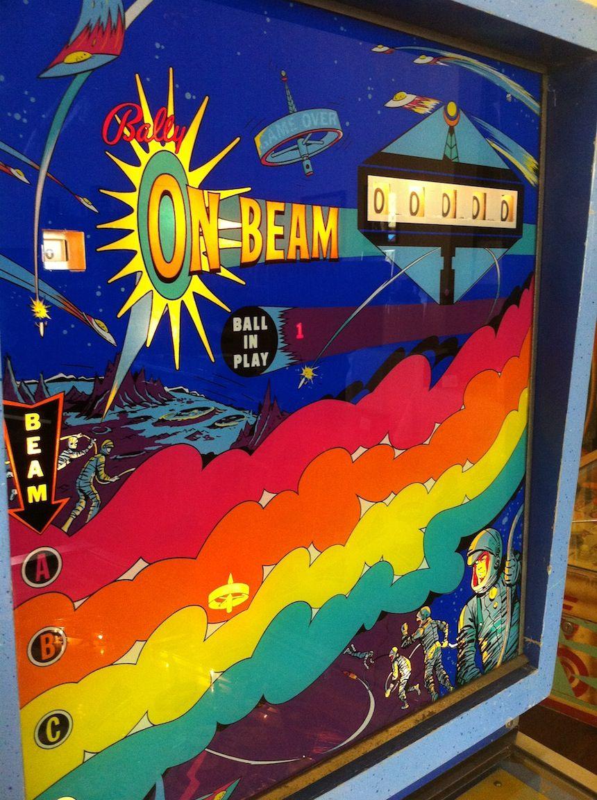 On Beam Pinball Machine Bally 1969
