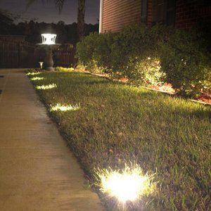 Kenroy Home 5 Light Led External Solar Deck And Path String Kit