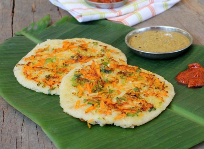 Oats Uthappam Healthy Breakfast Recipe With Oats For Kids Recipe Healthy Breakfast Recipes Indian Food Recipes Vegetarian