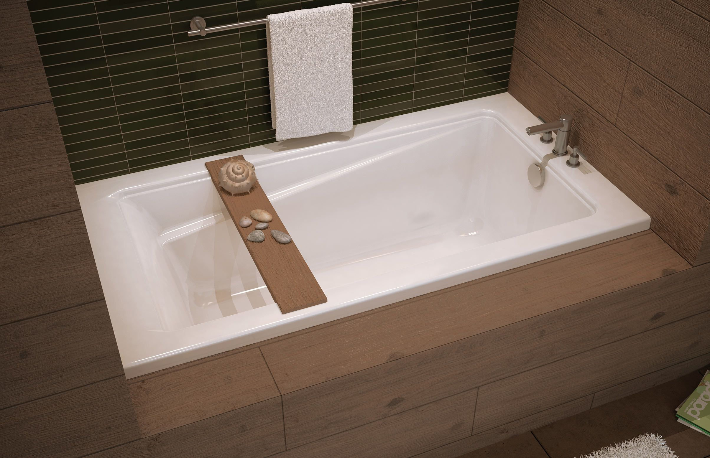 Good EXHIBIT (IF) Alcove Bathtub   MAAX Professional