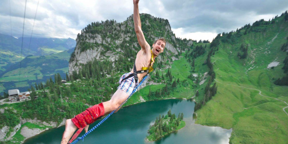You're getting older, but you're still young enough to do something crazy, like bungee jump or take a trip on a whim.