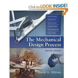 The Mechanical Design Process Mcgraw Hill Series In Mechanical