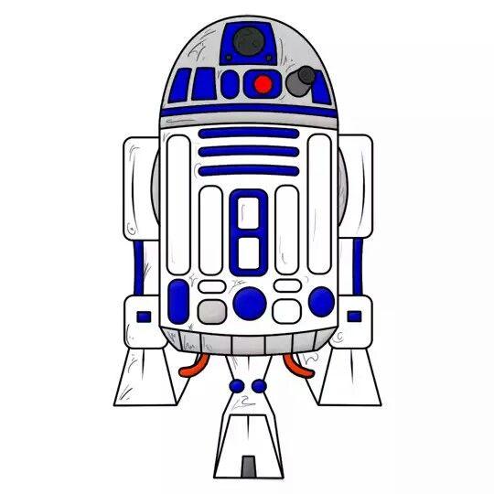 Pin By Rachel Veneracion On R2d2 Star Wars Drawings