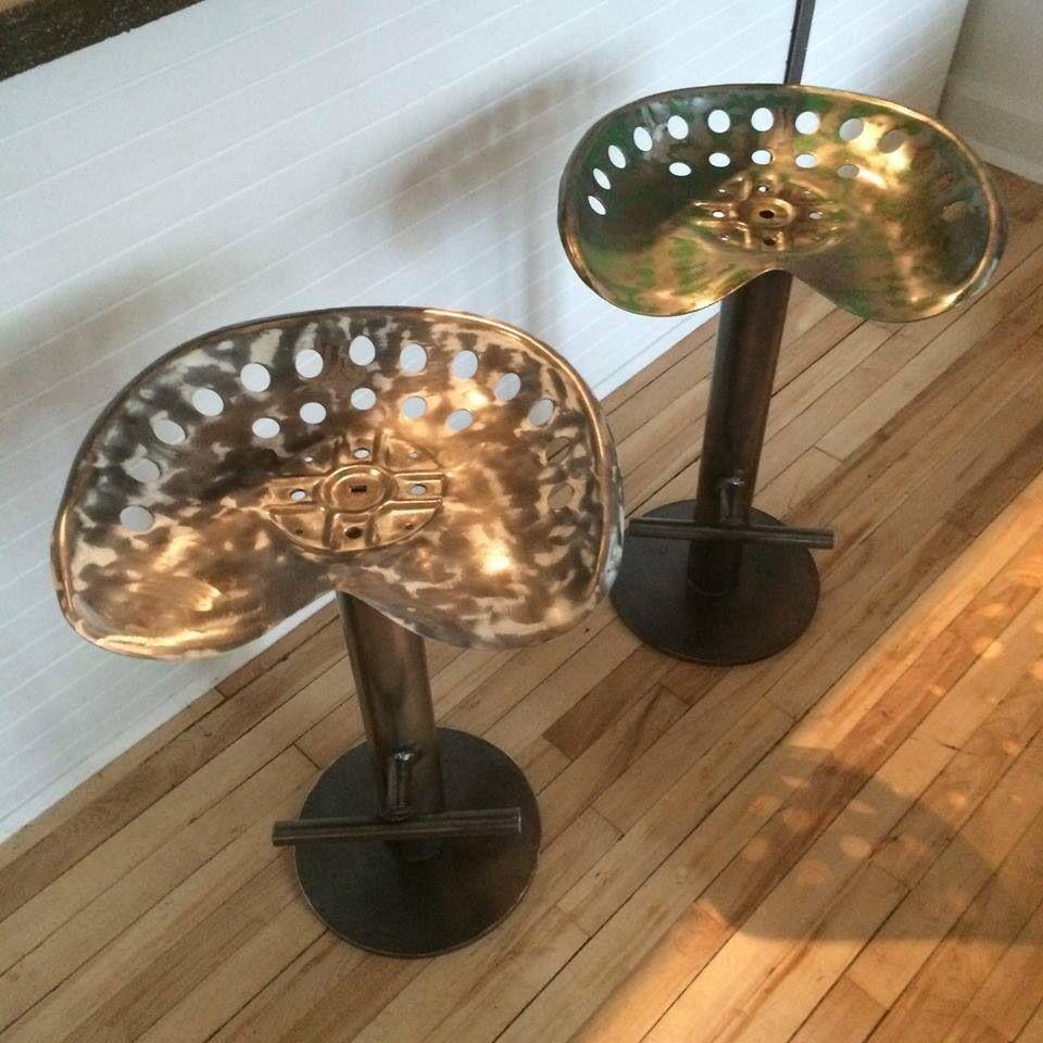 stool tabouret design et contemporain au look industriel unique soudure chaises tabourets. Black Bedroom Furniture Sets. Home Design Ideas