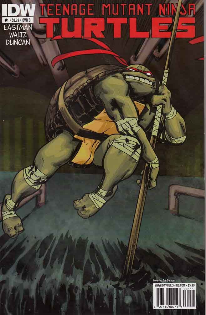 Teenage Mutant Ninja Turtles 2011 IDW #1 B cover Mint $6.00