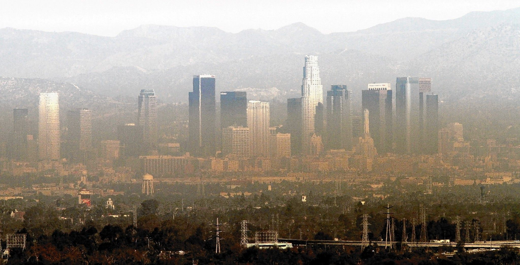 L A Central Valley Have Worst Air Quality American Lung Assn Says Pollution Central Valley Air Pollution