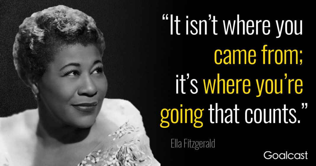 12 Inspiring Ella Fitzgerald Quotes To Lighten Up Your Day 12 Inspiring Ella Fitzgerald Quotes To Lighten Up Your Day Popular Quotes inspirational quotes from popular songs