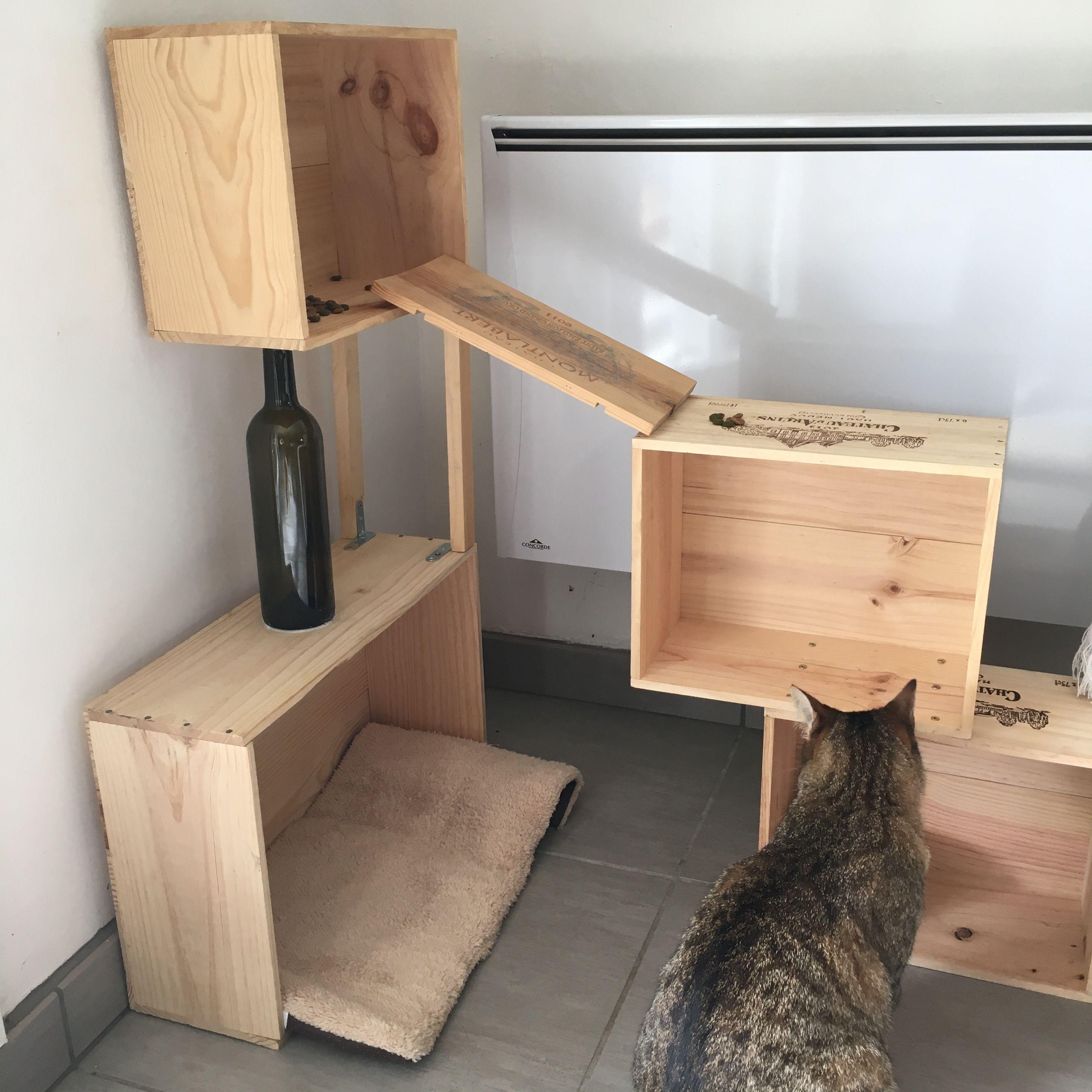 Tuto Jeux Jouet Chat Cat Tree Avec Images Arbre A Chat Diy Arbre A Chat Jouet Pour Chat