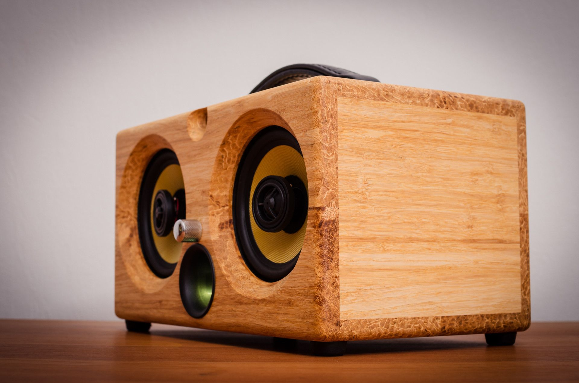 Cool Speaker Boxes thodio ibox™ xc high density natural bamboo   audiophile