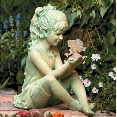 17 Best 1000 images about Garden statuary planters on Pinterest