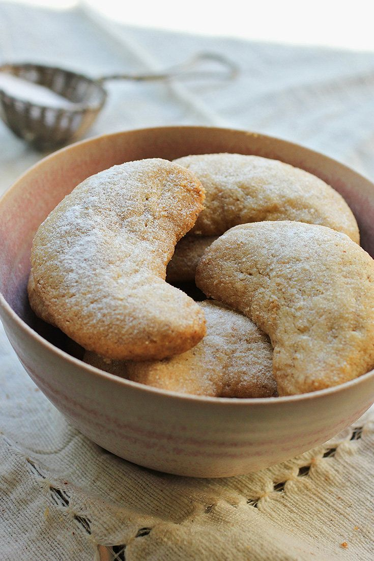 Cardamom-Walnut Crescents | Recipe | Crescents, Times and Food