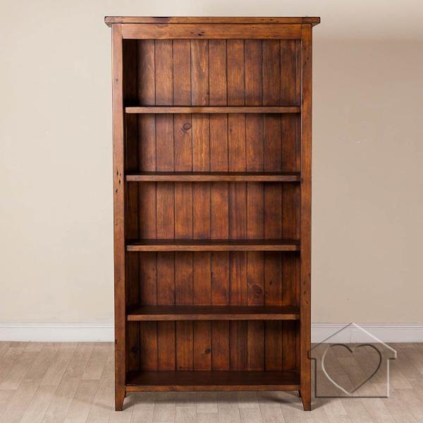 Basement bookcase