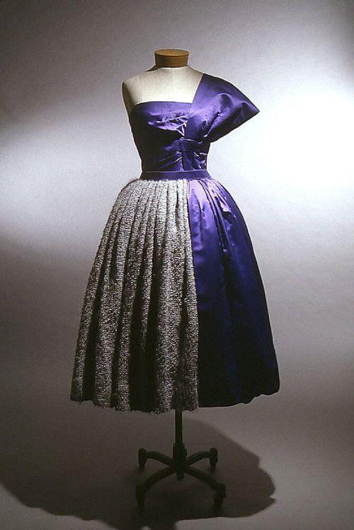 Dress    Gilbert Adrian, 1950-1955