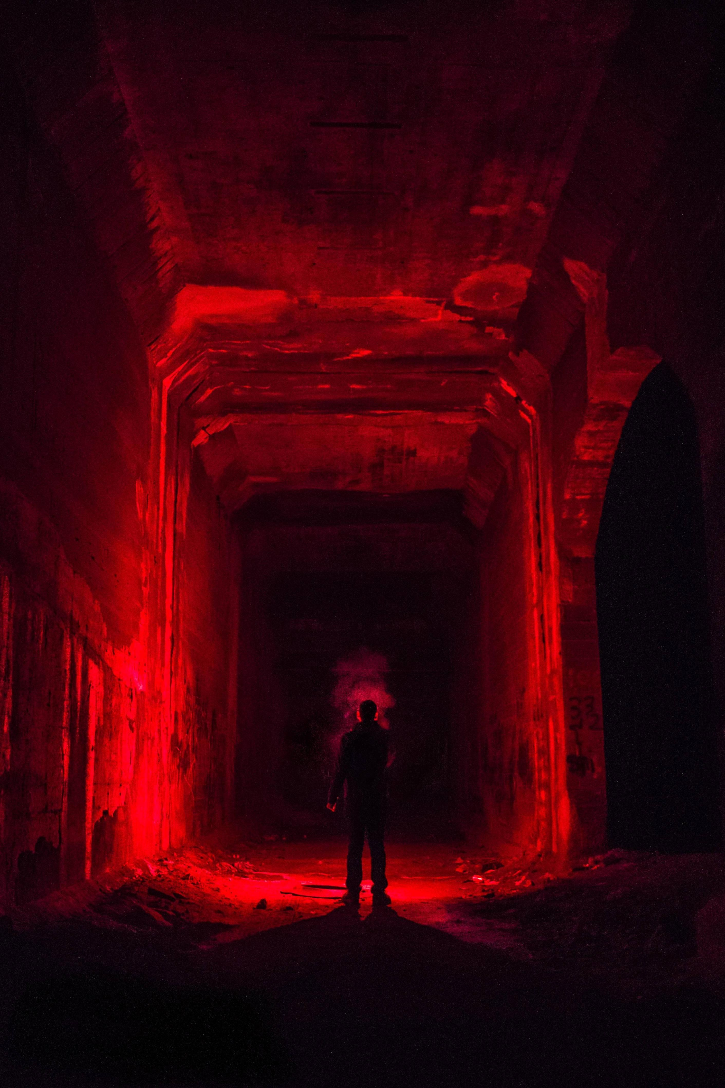 Pin by Eric on Abandoned | Red aesthetic, Red rooms, Red