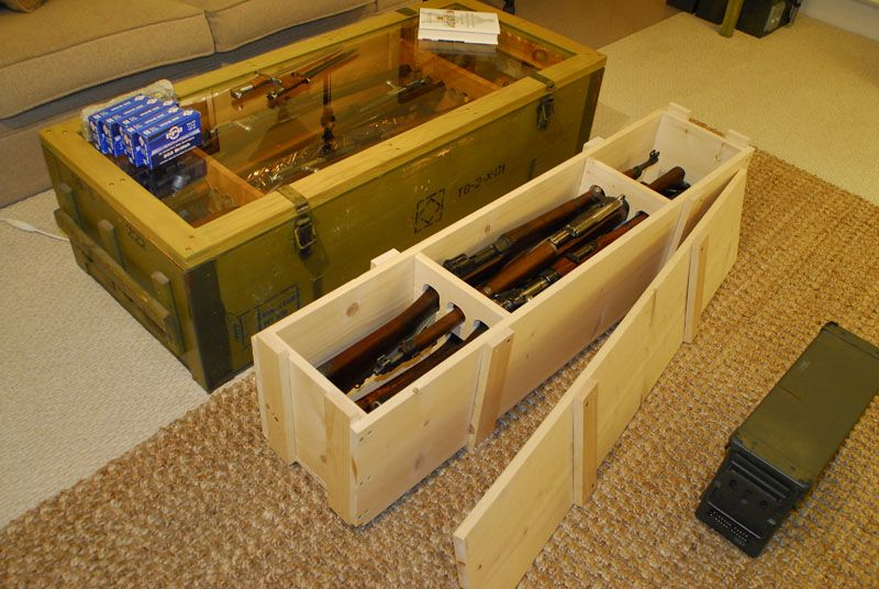 I Built A Rifle Transport Crate Ar15com Archive Expedition