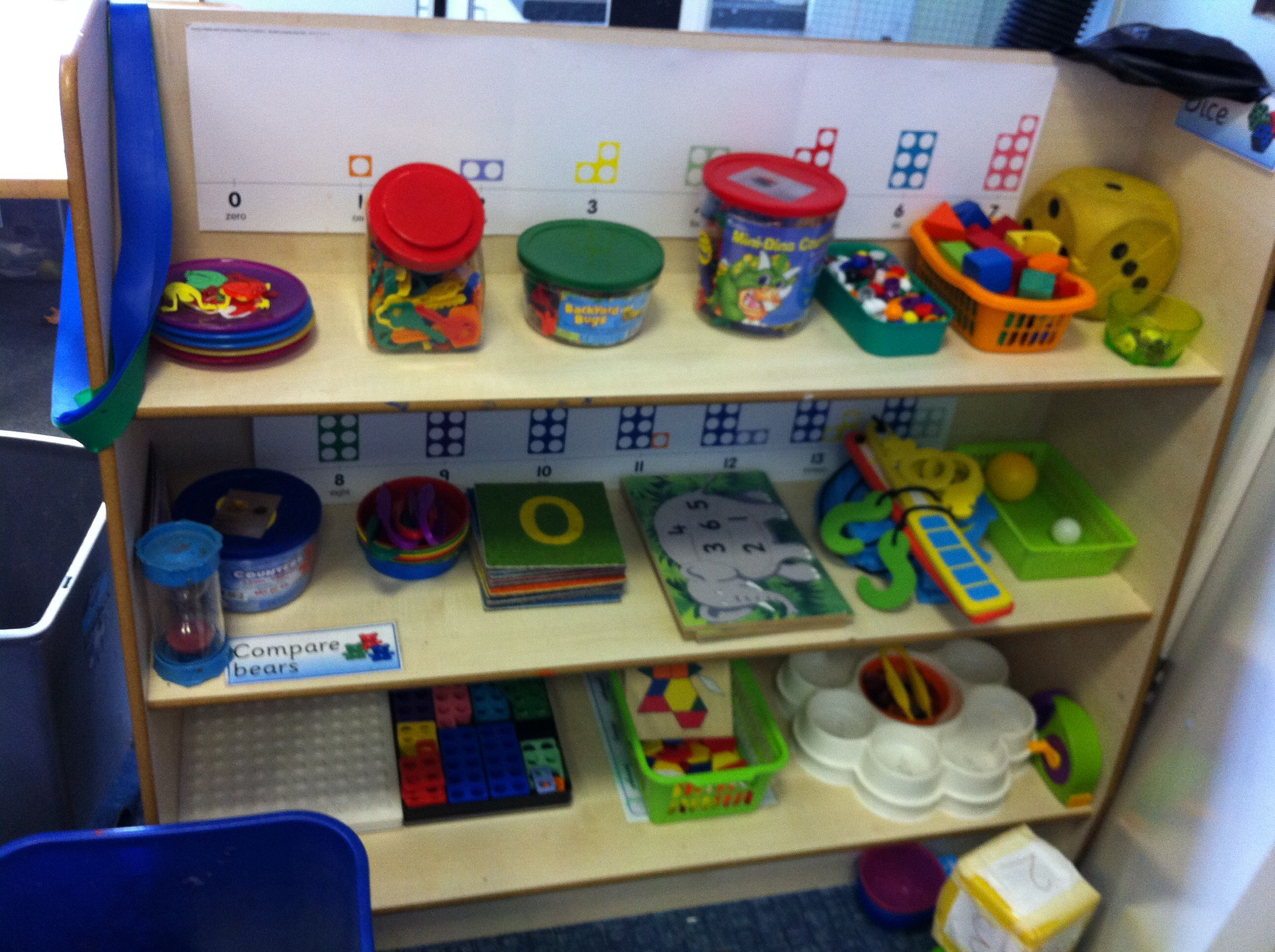 Classroom Ideas Early Years ~ Autumn term continuous provision in our maths area