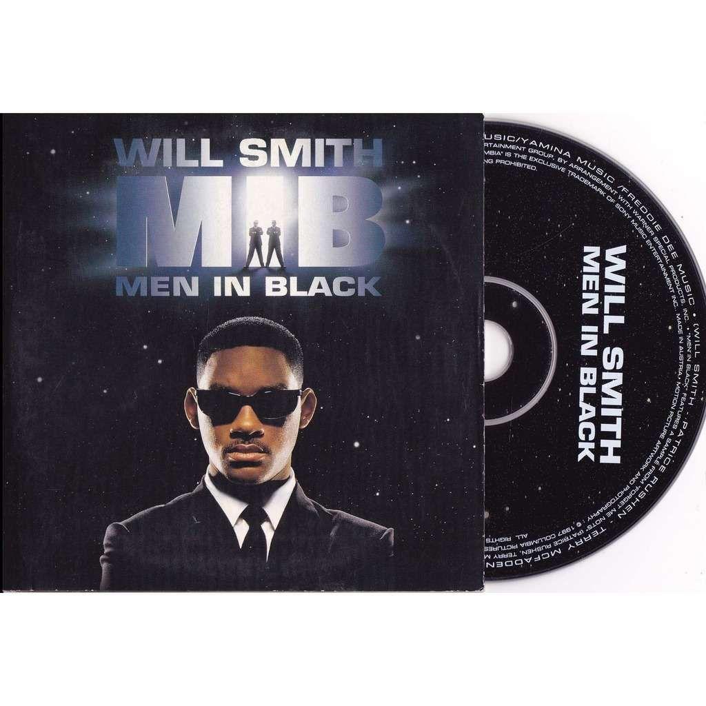 Will Smith – Men in Black (single cover art)