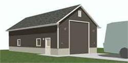 RV Motorhome Garage Plan 1152 Rv1 Image