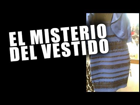 El misterio del vestido azul y negro