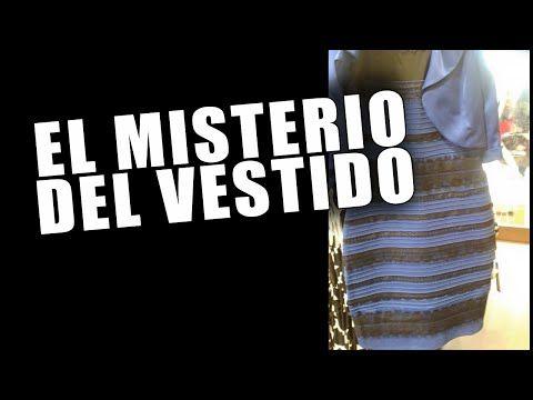 Misterio vestido azul