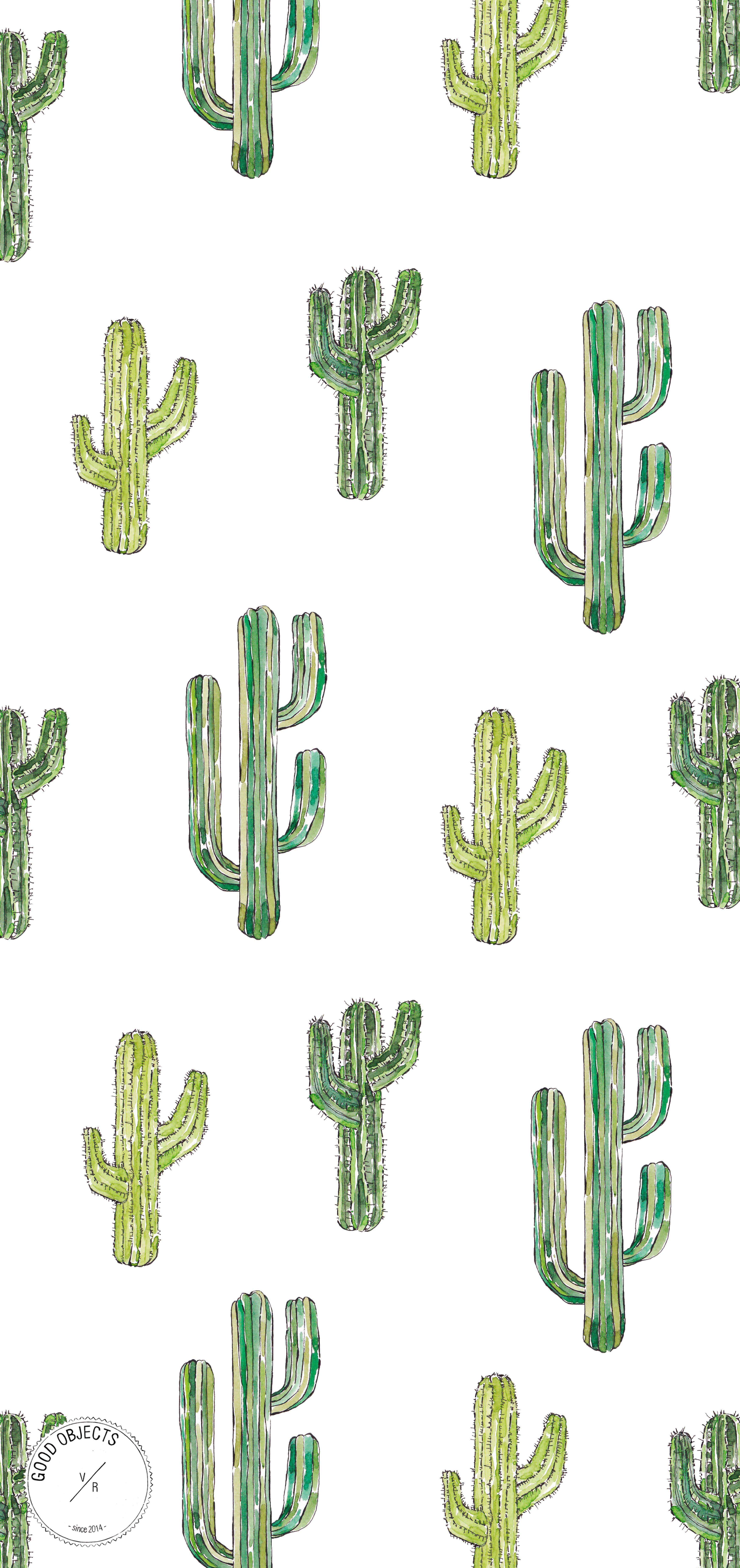 Shop Now Good Objects Cactus Watercolor Art Print Watercolor