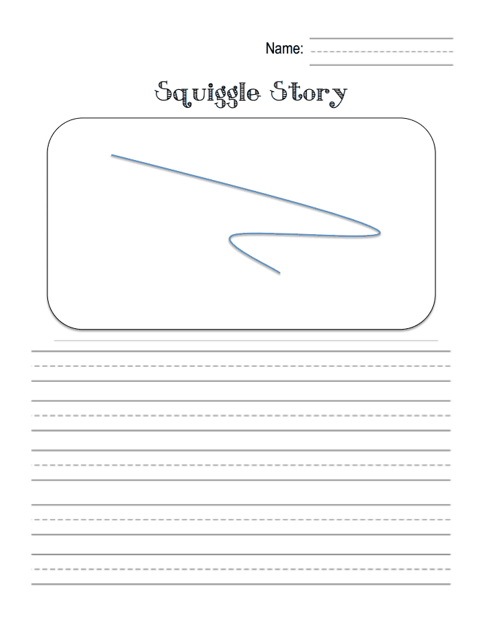 squiggle story 1pdf  google drive  relief teaching