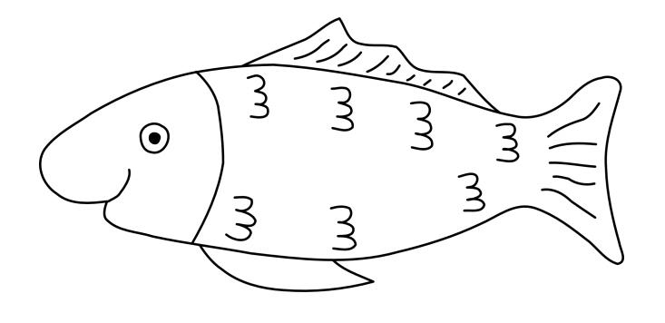 40 Malvorlage Fisch A4 In 2020 Malvorlagen Malvorlage Fisch Ausmalbilder Fische