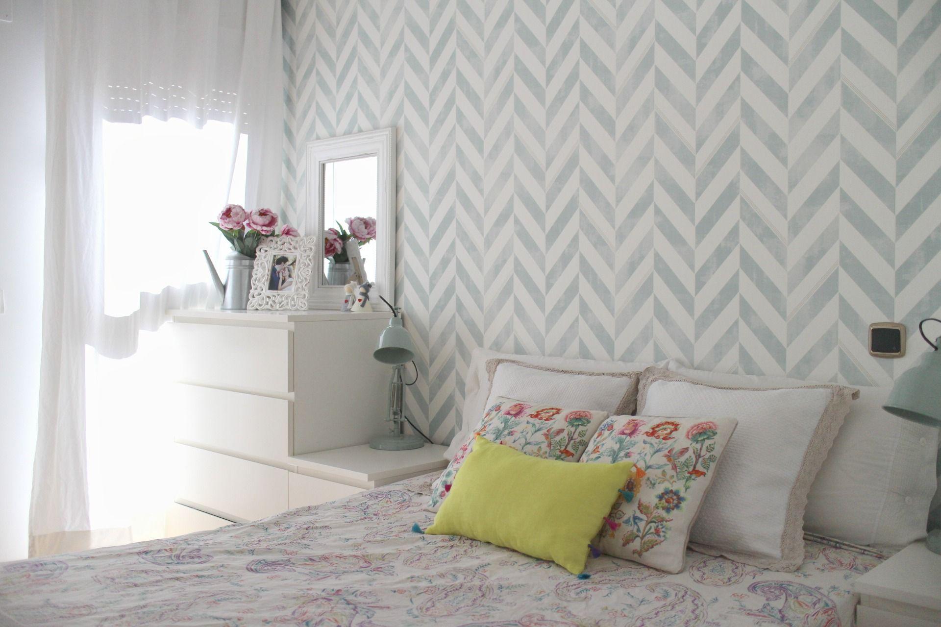 Paredes Increibles Con Papel Pintado Como Decorar Tu Habitacion Decorar Habitacion Matrimonio Dormitorio De Matrimonio