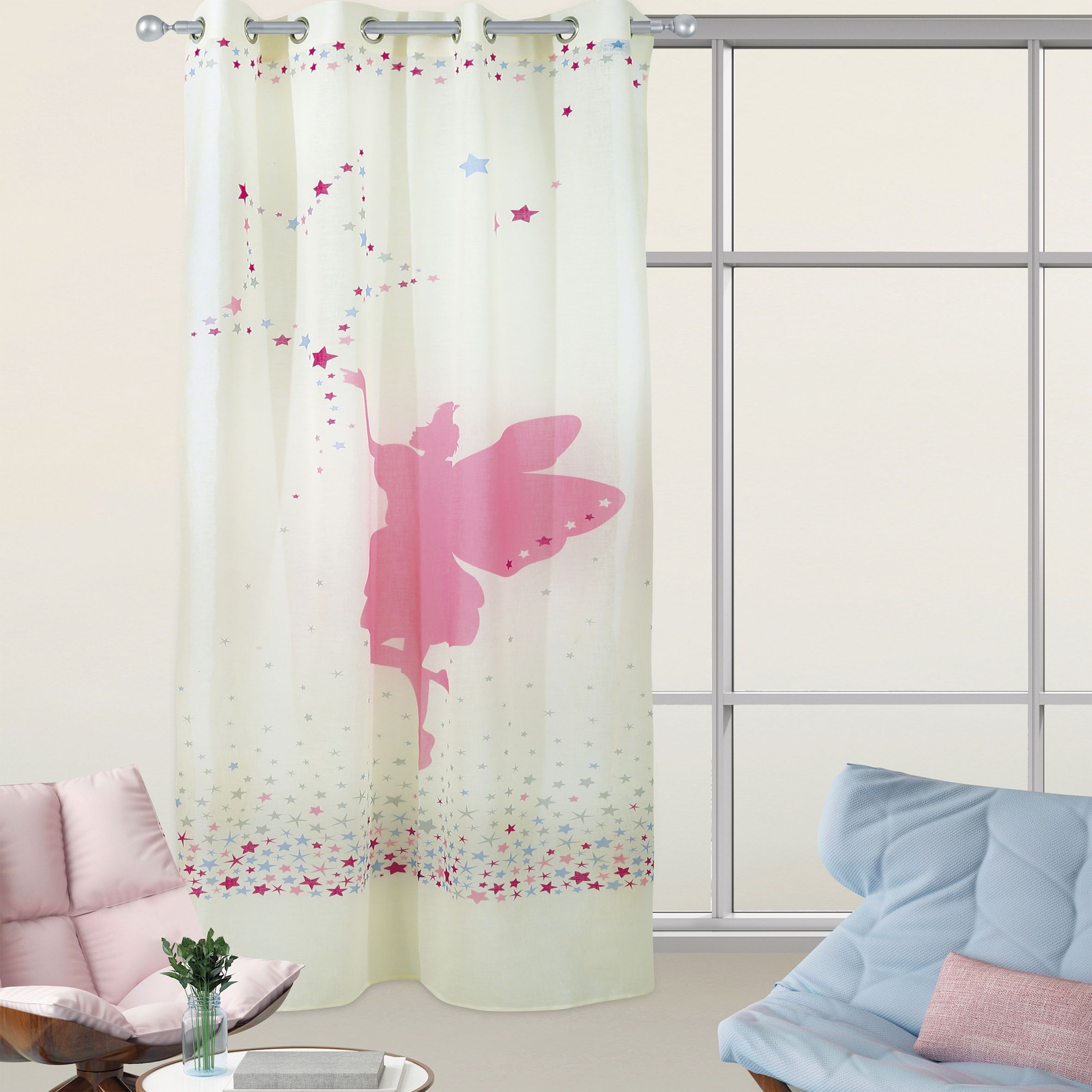 funny watercolor gallery curtain tale fairy colorful shower curtains flying cute for designs kids in view unicorn with and kid
